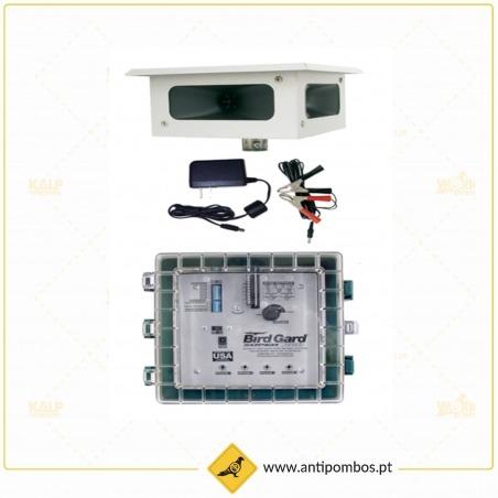 Repelente de Pássaros Eletrónico-Bird Gard Super Pro AMP